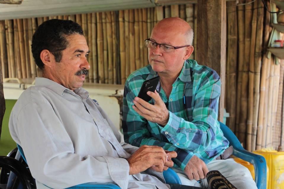 Los Ruiz, recuperaron sus tierras en Cambimba, despues de 15 años de desplazamiento.